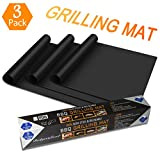 BUDGET & GOOD Grill Mat 100% Non-stick BBQ Grill & Baking Mats - FDA-Approved, PFOA Free, Reusable and Easy to Clean - Works on Gas, Charcoal, Electric Grill and More - 15.7 x 13 Inch …