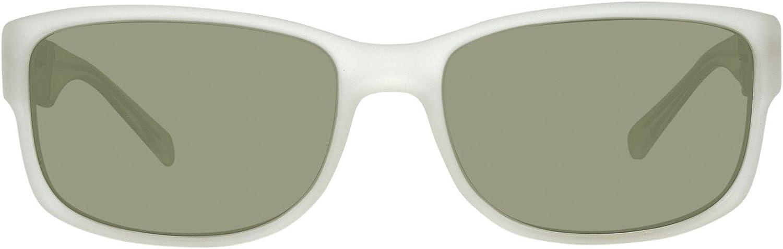 Men/'s Guess Acetate Sunglasses White Frame// Green Lenses
