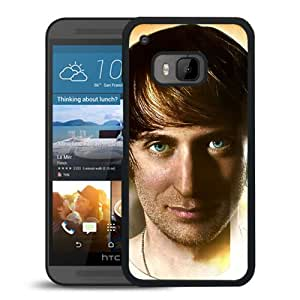 Beautiful Designed Cover Case With David Guetta Face Look Eyes Graphics For HTC ONE M9 Phone Case