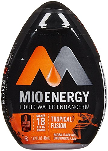 MIO Liquid Water Enhancer - Energy Tropical Fusion - 1.62 Ounces