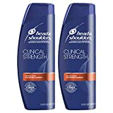 Head and Shoulders, Shampoo, Anti Dandruff, Clinical Strength Seborrheic Dermatitis Treatment, 13.5 fl oz, Twin Pack
