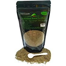 Bonsai Fertilizer - Slow Release - With Free 1g Scoop - Immediately fertilizes and then fertilizes over 1-2 months - Good For House Plants And Cactus (12 Ounce 12-4-5)