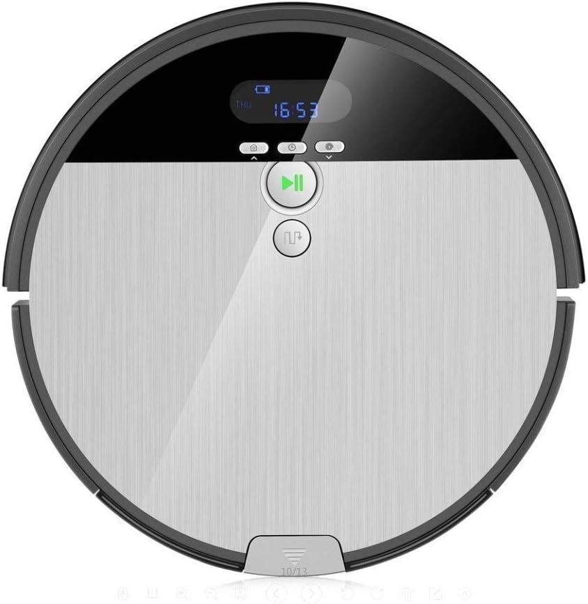 iLife Robot Aspirador V8S, planifié, techonogie Avanzada de Limpieza del Pelo de los Animales de compañía, sin Caléndula de Enchevêtrement, Blanco Perla, Normal: Amazon.es: Hogar
