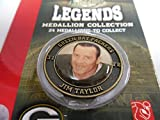 Jim Taylor # 31 Green Bay Packers Legends Medallion Collection Brass Coin
