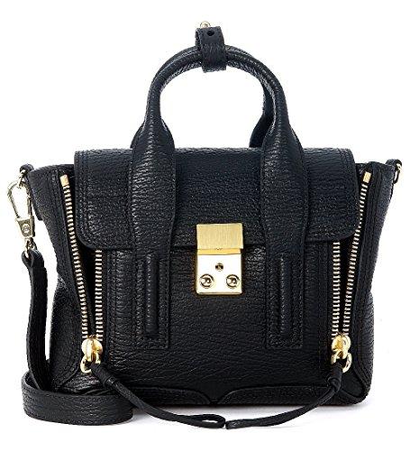 31-phillip-lim-womens-31-phillip-lim-pashli-black-leather-mini-satchel-black