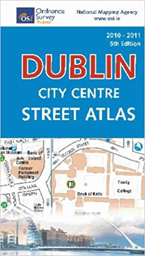 Maps Dublin.Dublin City Centre Street Atlas Pocket Irish Maps Atlases And