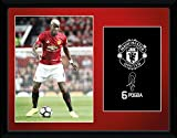 PAUL POGBA MANCHESTER UNITED 2016-17 FRAMED PICTURE OFFICIAL 16'x 20'