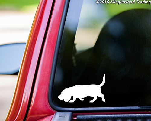BASSET HOUND Vinyl Decal Sticker 5