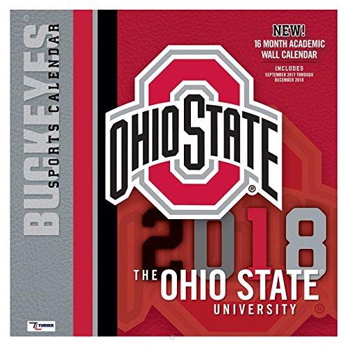 Ohio State Buckeyes 2018 Calendar