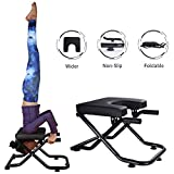 Yoga Headstand Bench Stand Yoga Chair for Family, Gym, Fitness Ideal Chair for Practice Head Stand, Shoulderstand, Handstand