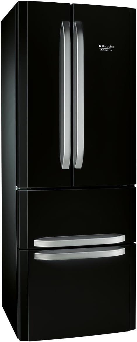 Hotpoint-Ariston - E4DAABC - Réfrigérateur combiné 3 portes pose libre - 415 L - Classe: A+ - Noir