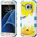 honey gear - Galaxy S7 Edge Case - Armatus Gear (TM) Design Phone Case Rugged Dual Layer Hybrid Armor Protective Cover for Samsung Galaxy S7 Edge (2016 Release) - Honey Bee