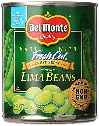 Price comparison product image Del Monte Green Lima Beans,  8.5 oz