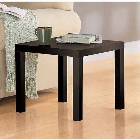 Mainstays Parsons End Table (Espresso) (Santa Fe Coffee Table Book)