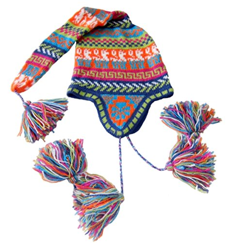 Price comparison product image Alpakaandmore Women's Alpaca Wool Hat Duende One Size Multicolor