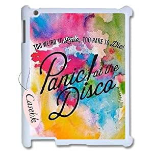 Casehk Cheap Durable Case Cover for iPad 2,3,4, panic at the disco iPad 2,3,4 Hot Sale Case, panic at the disco DIY Shell Phone Case