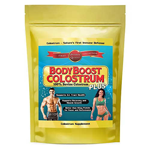 Colostrum Bovine 1 Kilo (2.2 lbs)(35 oz) Powder 1 Best Value on Amazon 50 Percent Discount Today 100 Percent Whole Nothing Added 1st Milking Only Maximum Biological Activity Natural - Oz 35 Body