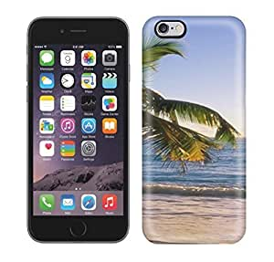 Best Power(Tm) HD Colorful Painted Watercolor S Beach Tropical Beach Susnet Hard Phone Case For Iphone 6 Plus