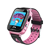 Samber Children Smart Touch Screen Watch with GPS Locator Waterproof and Drop-proof Kid