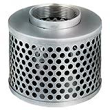 "Kuriyama RHS400 Round Hole Steel Strainer, 4"""