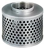 Kuriyama RHS200 Round Hole Steel Strainer, 2''