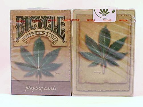 2 Decks Hemp Back Bicycle Playing Cards