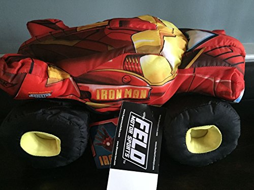 Iron Man 2 Monster Jam Plush Truck (NEW WITH TAGS) _#GER4T134D ()