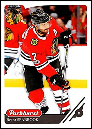 low priced 38043 8d1da Amazon.com: 2018-19 Parkhurst Hockey #103 Brent Seabrook ...