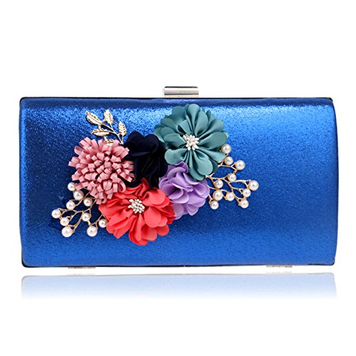 Knickers Designer Floral Lace Satin Damen Clutch Bag New Wave Messenger Bag Damen Luxuriöse Tasche Handtasche Abend Hochzeit Party E hDVdCiSbUo
