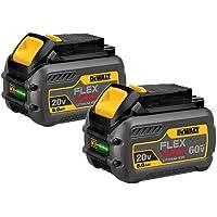 Deals on 2-Pk Dewalt DCB606-2 20V/60V MAX FLEXVOLT 6Ah Li-Ion Battery