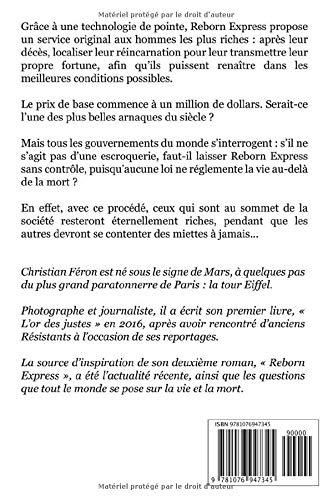 Amazon Com Reborn Express French Edition 9781076947345