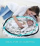 Borje Baby Lounger, Portable Super Soft Organic