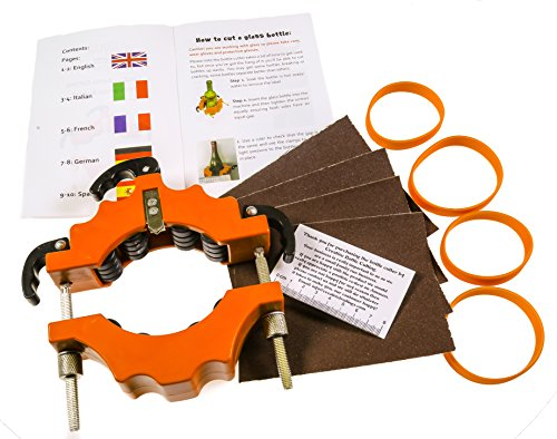 -[ Creative Bottle Cutting - BOTTLE CUTTER Cuts bottles from 43 to 102 mm diameter Strong and Durab
