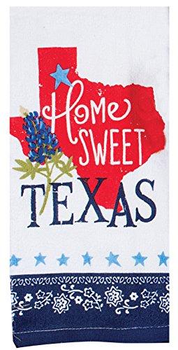 Kay Dee Designs R3760 Home Sweet Texas Terry Towel