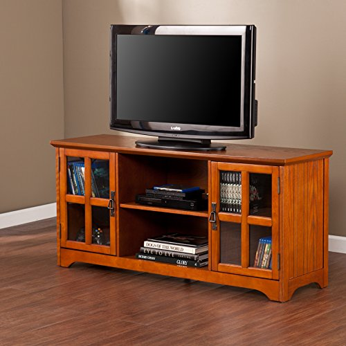 037732099071 - Remington Mission Oak Media Stand carousel main 8