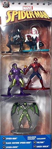 Nano Metalfigs Marvel Spider-Man Set 3 -
