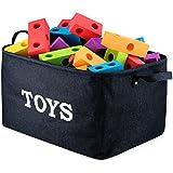 """Toys Storage"" Bin 17"" Large Collapsible Toy Storage..."