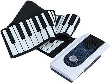 XLLLL Piano Enrollado A Mano 88 Teclas Multifunción Plegable ...