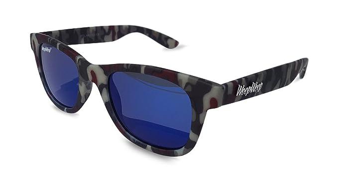 WoopWoop Gafas de Sol Polarizadas Camuflaje CM55: Amazon.es ...