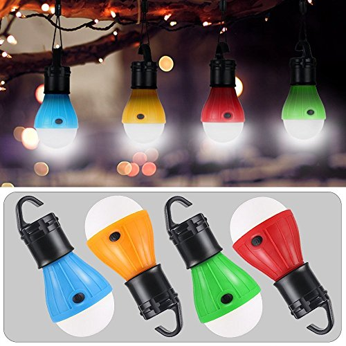 LED Camping Light,Tent Light bulb with battery powered Bulbs for Camping Hiking Fishing Waterproof Emergency indoor