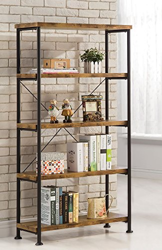 Coaster Home Furnishings Coaster 801542 Bookcase, Barritt - Open Bookshelf