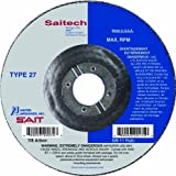 United Abrasives/SAIT 20047 Type 27 5-Inch by 1/4-Inch by 7/8-Inch Atacker Depressed Center Wheel, 25-Pack