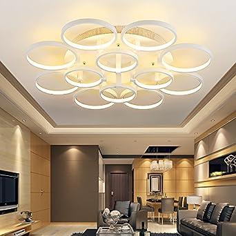 SSBY Modernes, minimalistisches Acryl LED Deckenleuchte kreative ...