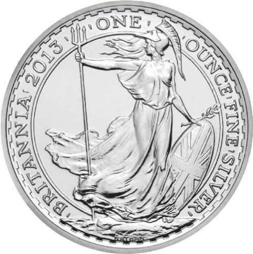 2014 British Britannia One Ounce Silver Coin