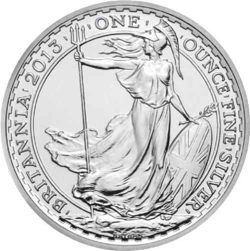 2014 British Britannia One Ounce Silver Coin