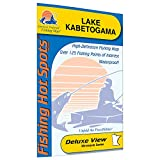 Kabetogama Fishing Map, Lake