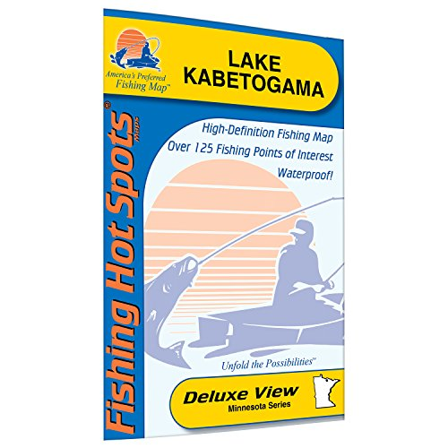 Kabetogama Fishing Map, Lake by Fishing Hot Spots