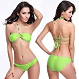 Walid-Summer Style Sexy Bathing Suit Women 2016 New Swimwear Swimsuit Sexy Bikini Swimwear Shoulder Strap Bikinis Set ( Size: L )