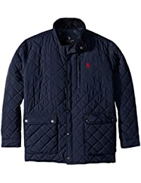 Men's Diamond-Quilted Jacket