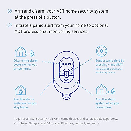 Samsung SmartThings ADT Keychain Remote